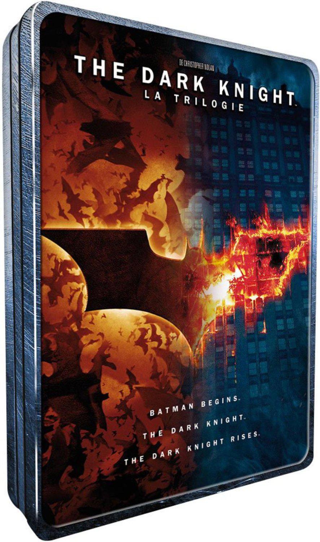 """Boutique """"Fête des  pères"""" -50%  de réduction sur une sélection de coffrets DVD & Blu-Ray  - Ex : Coffret DVD The Dark Knight - La trilogie  Édition Limitée"""