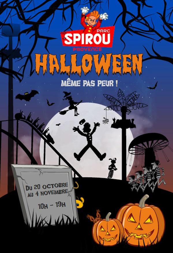Billet Adulte / Enfant pour le parc d'attractions Spirou - du 20 octobre au 4 novembre, à Monteux (84)