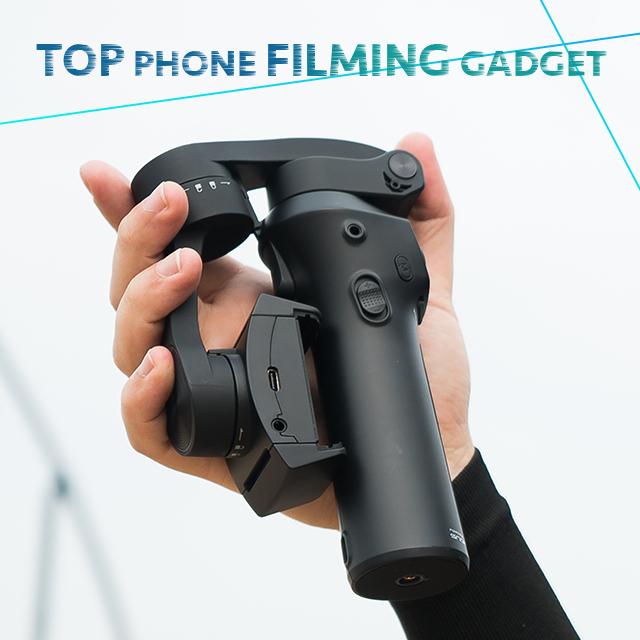 Stabilisateur Snoppa Atom pour smartphone pliable - 3 axes - Noir ou Rose (IndieGogo)