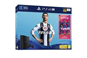 Console Sony Playstation 4 Pro (1 To) + FIFA 19