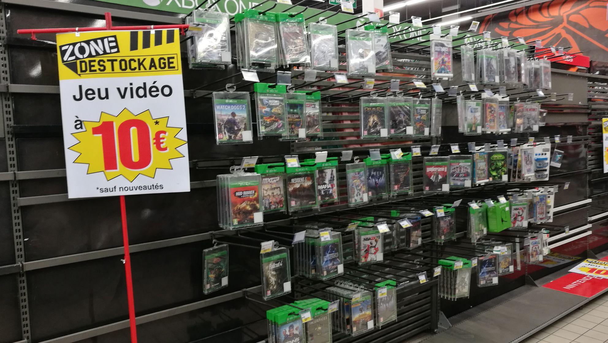 Tous les jeux vidéo à 10€ (sauf nouveautés) - Livry-Gargan (93)