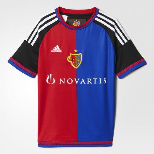 Maillot Adidas FC Bâle Domicile 2015-2016 pour enfant (jusqu'à 16 ans)