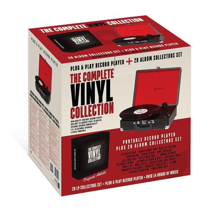 platine vinyle denver vpbo2001 2 haut parleurs int gr s port usb rca st r o jack 20. Black Bedroom Furniture Sets. Home Design Ideas