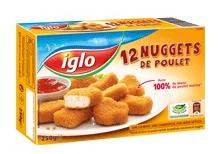 2 Boites de 12 nuggets de poulet Iglo (via 2,96€ de cagnotte fidélité)