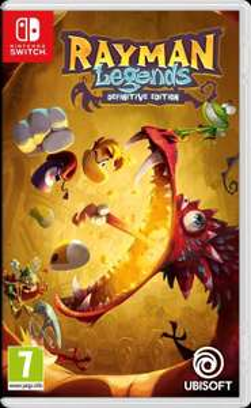 Rayman Legends Definitive Edition sur Nintendo Switch