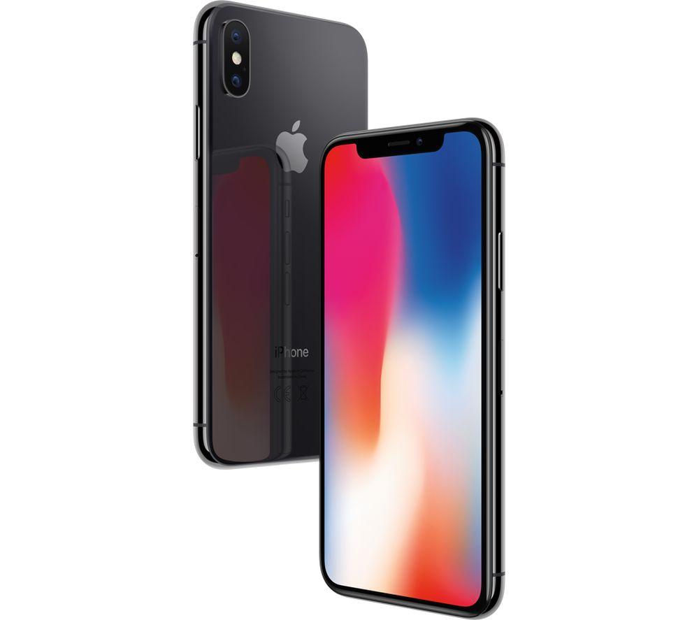 """Smartphone 5.88"""" Apple iPhone X - 64 Go (+ Jusqu'à 175€ en SuperPoints via l'Application)"""