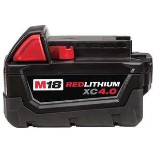 Sélection de Batteries Milwaukee,Bosh en promo - Ex : Batterie 18V Li-Ion 4Ah Red Lithium M18 B4 18V