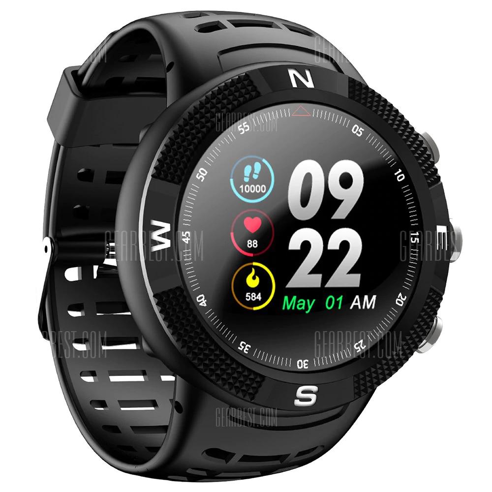 Montre connectée NO.1 F18 GPS Sports - Noir