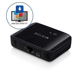 BELKIN F7D4555UK WIFI & USB : Apporter le Wi-Fi à votre TV ethernet