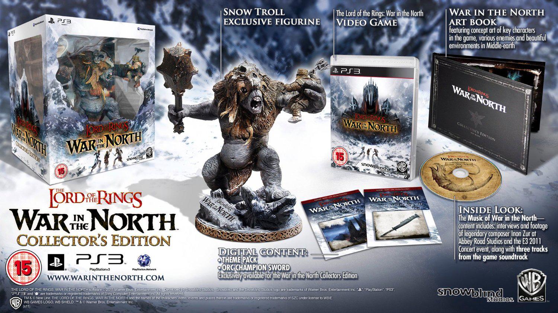 Le Seigneur des Anneaux : la guerre du Nord - Edition collector sur PS3