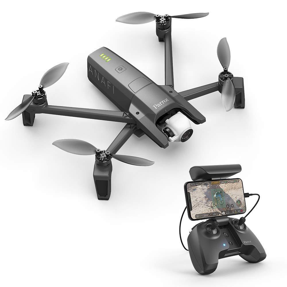 Drone Quadricoptère Pliable avec Caméra 4K Parrot Anafi (Reconditionné - Bon)