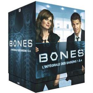 Bones, saisons 1 à 4 - DVD