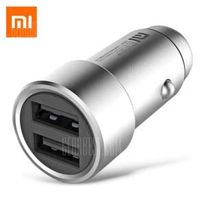 Chargeur Allume Cigare Xiaomi  - 2 sorties USB Charge rapide, 5V 2.4A