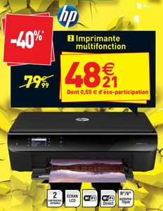 Imprimante multifonction HP Envy 4500 (wifi, recto/verso)
