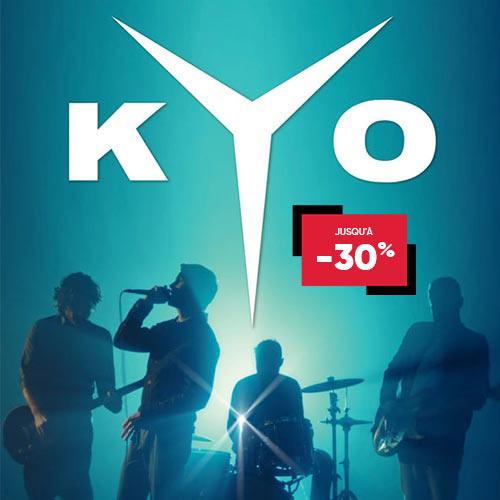 Sélection de spectacles en promotion - Ex : Concert de Kyo à Lille le 23 Novembre