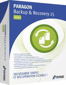 Logiciel Paragon Hard Disk Manager 15 Backup & Recovery Compact gratuit sur PC
