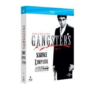 Collection Gangsters Blu-Ray :  American Gangster, Scarface, L'impasse
