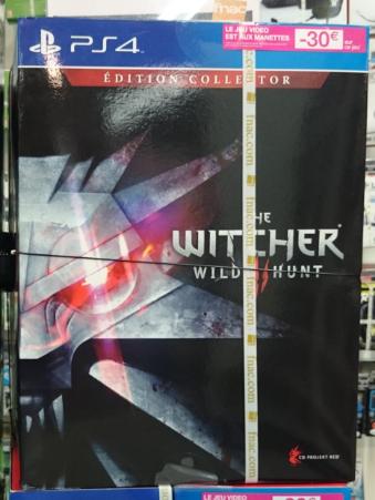 Sélection de jeux vidéo et accessoires en promotion - Ex : The Witcher 3 Wild Hunt Collector PS4