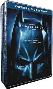 Coffret Blu-ray The Dark Knight - La trilogie (Coffret métal - Édition Limitée)