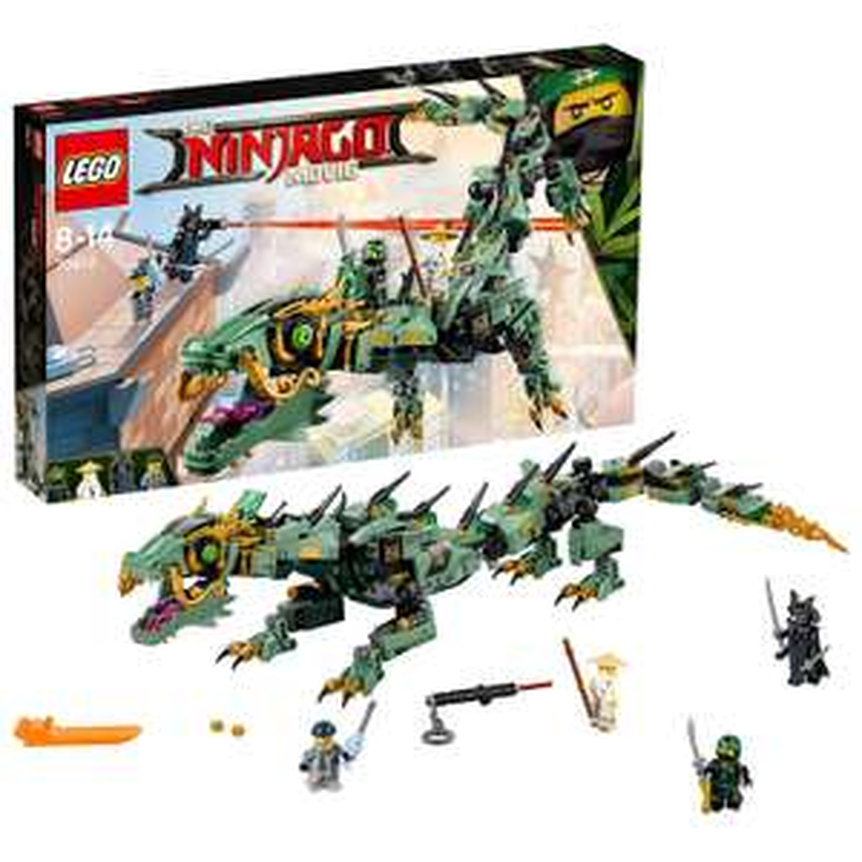[Adhérents] Jeu de construction Lego Ninjago : Le dragon d'acier de Lloyd n°70612