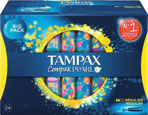 Tampax Compak gratuit (30% de remise immédiate + Bon de réduction)