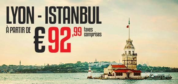 Vol A/R Istanbul