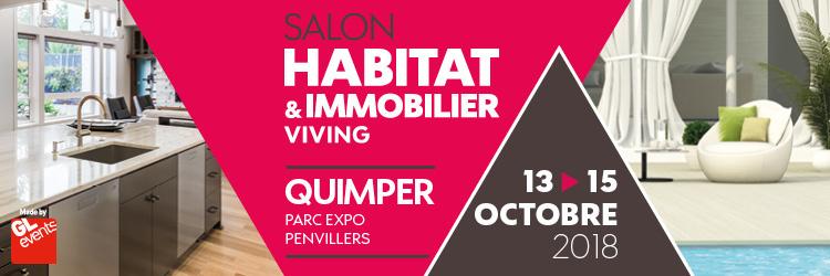 Invitations offertes pour le Salon Habitat & Immobilier Viving ! - Quimper ou Brest (29)