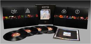 Coffret 4 vinyles Led Zeppelin: The Song Remains the Same