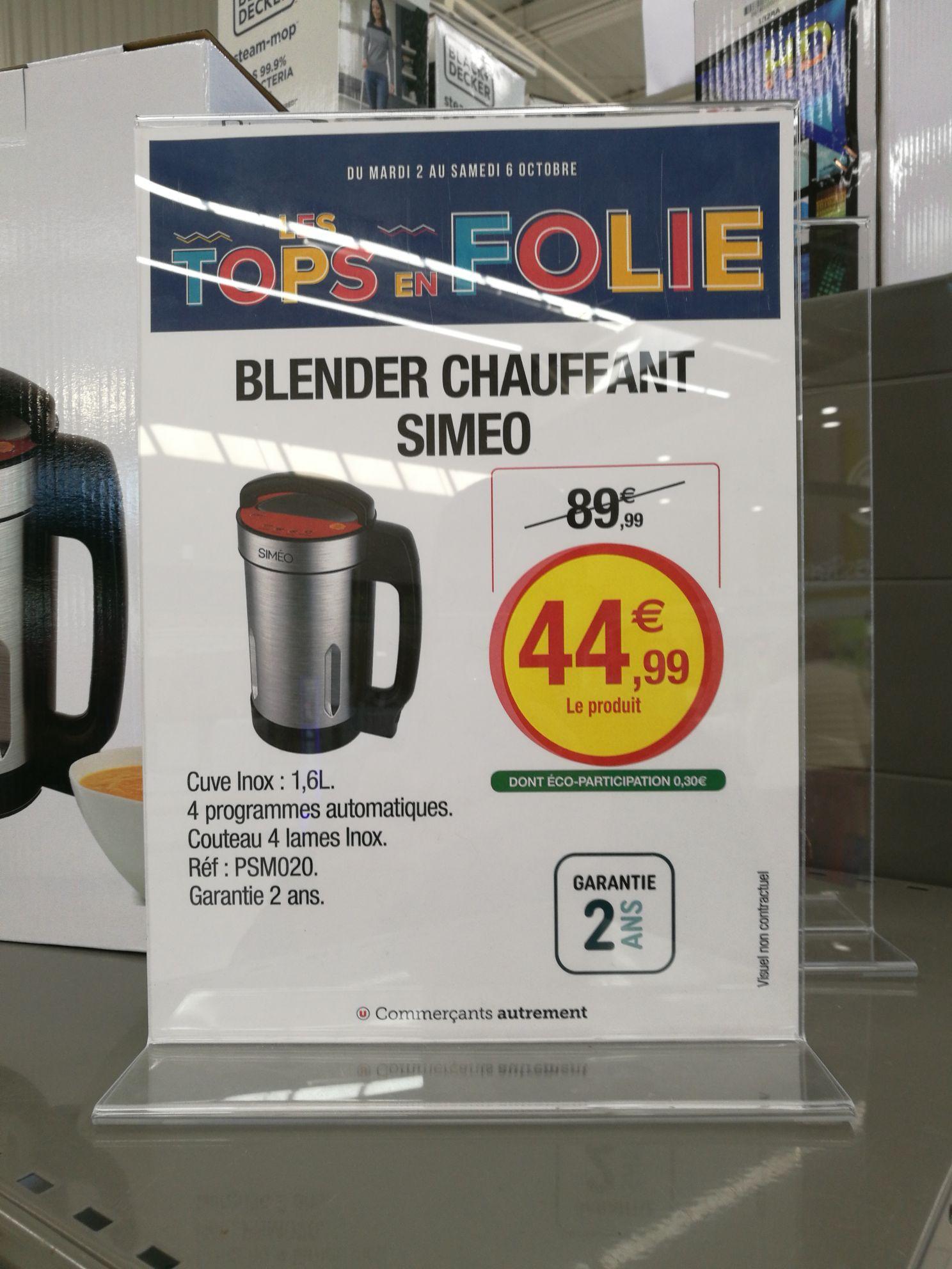 Blender chauffant Simeo PSM020 - 1.6 L