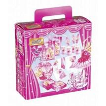 Coffret Anniversaire Barbie + Tete à coiffer Barbie