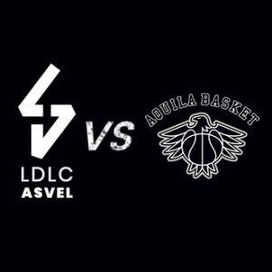 Place gratuite pour le Match LDLC ASVEL / Trento - Le 09 Octobre 2018 à l'Astroballe (Villeurbanne 69100)
