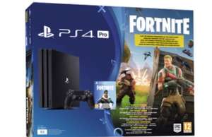 Console Sony PS4 Pro 1 To Noire + Fortnite Battle Royal