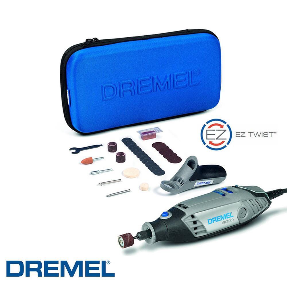 Outil multifonctions Dremel 3000 130W + 26 accessoires + trousse