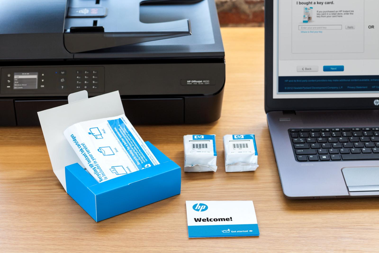 [Nouveaux Clients] Abonnement HP Instant Ink Offert - 3 Mois