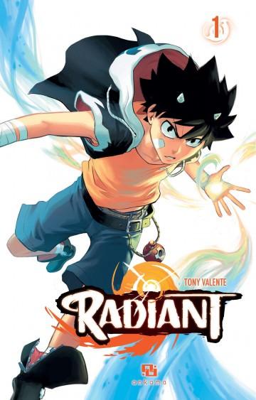 Manga Radiant Tomes 1 à 4 à 1.99€/tome (dématérialisé)