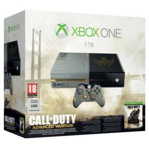 Pack console Xbox One 1To édition limitée + Call of duty Advanced Warfare