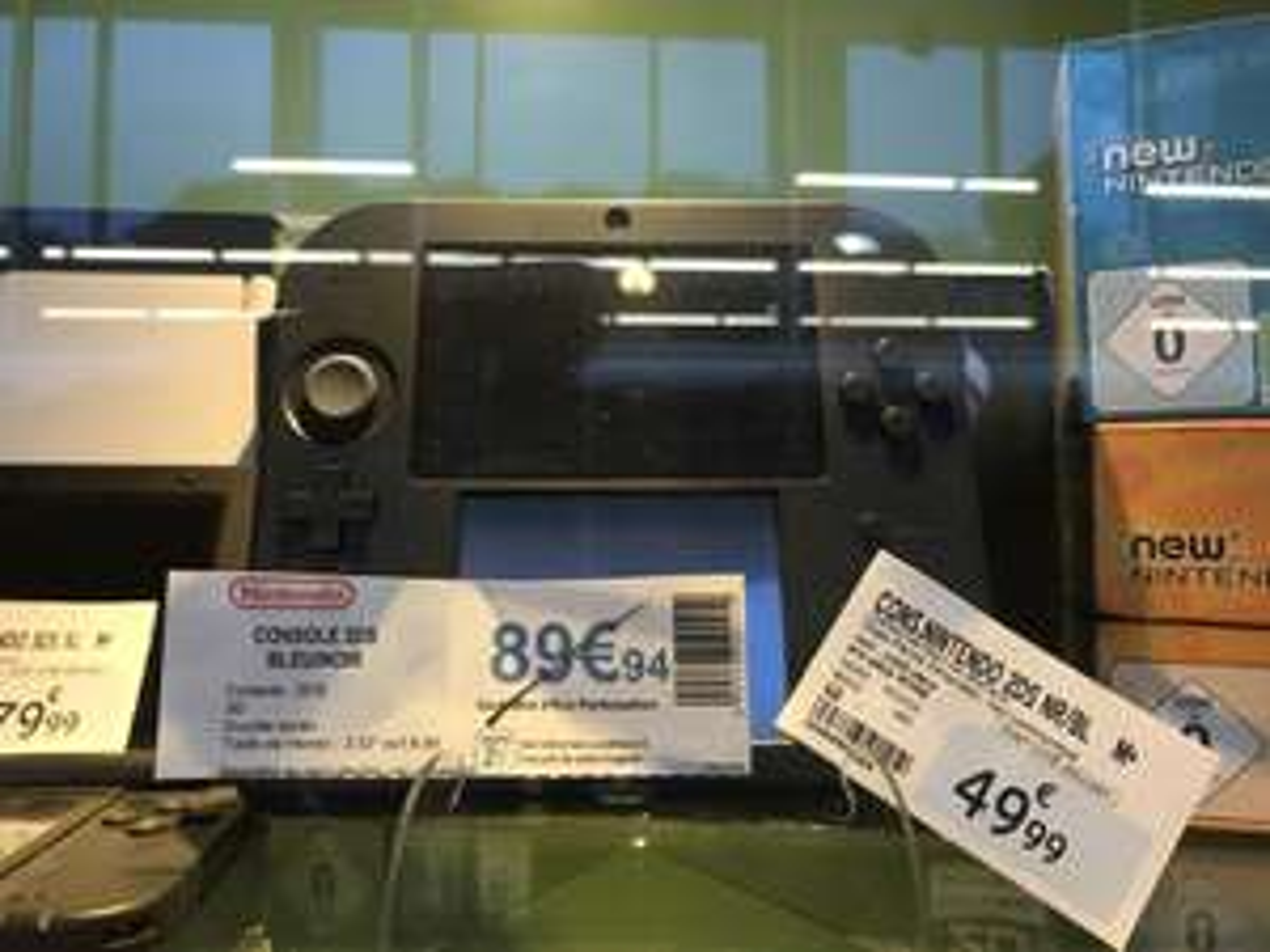 Console portable Nintendo 2DS - bleu/noir