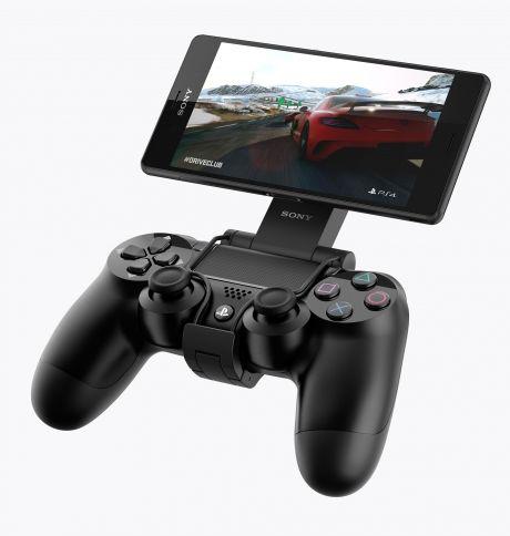 Fixation pour manette de jeux PS4 pour Tablette ou Mobile Sony Xperia Z3