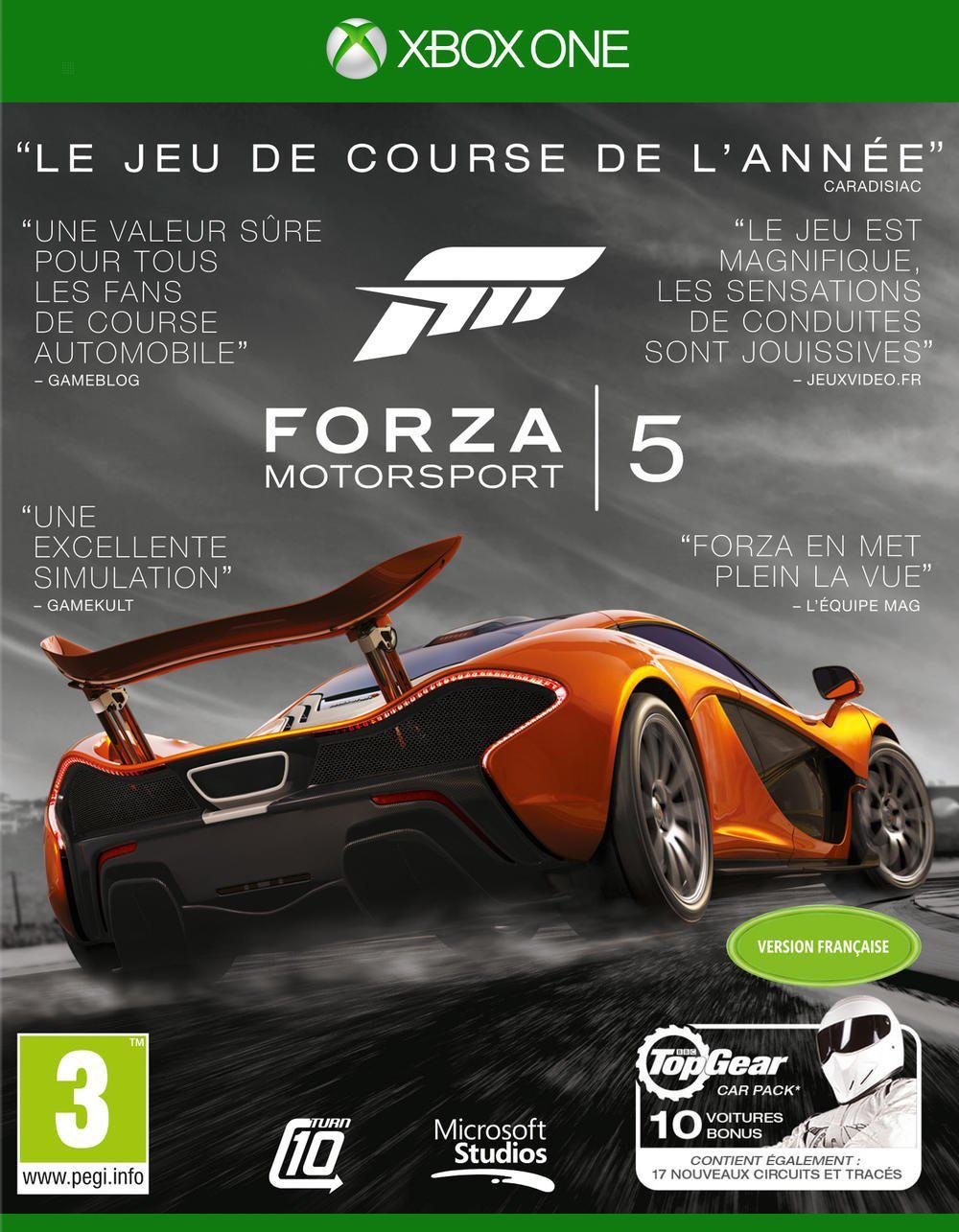 Forza Motorsport 5 Edition GOTY  sur Xbox One