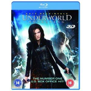 Blu-ray 3D Underworld Nouvelle Ere (Seulement en anglais) / Frais de port inclus
