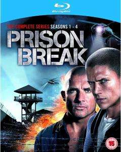 Coffret Blu-ray Intégrale Prison Break (Saisons 1 à 4)