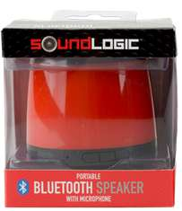Mini-enceinte Bluetooth rechargeable SoundLogic avec microphone