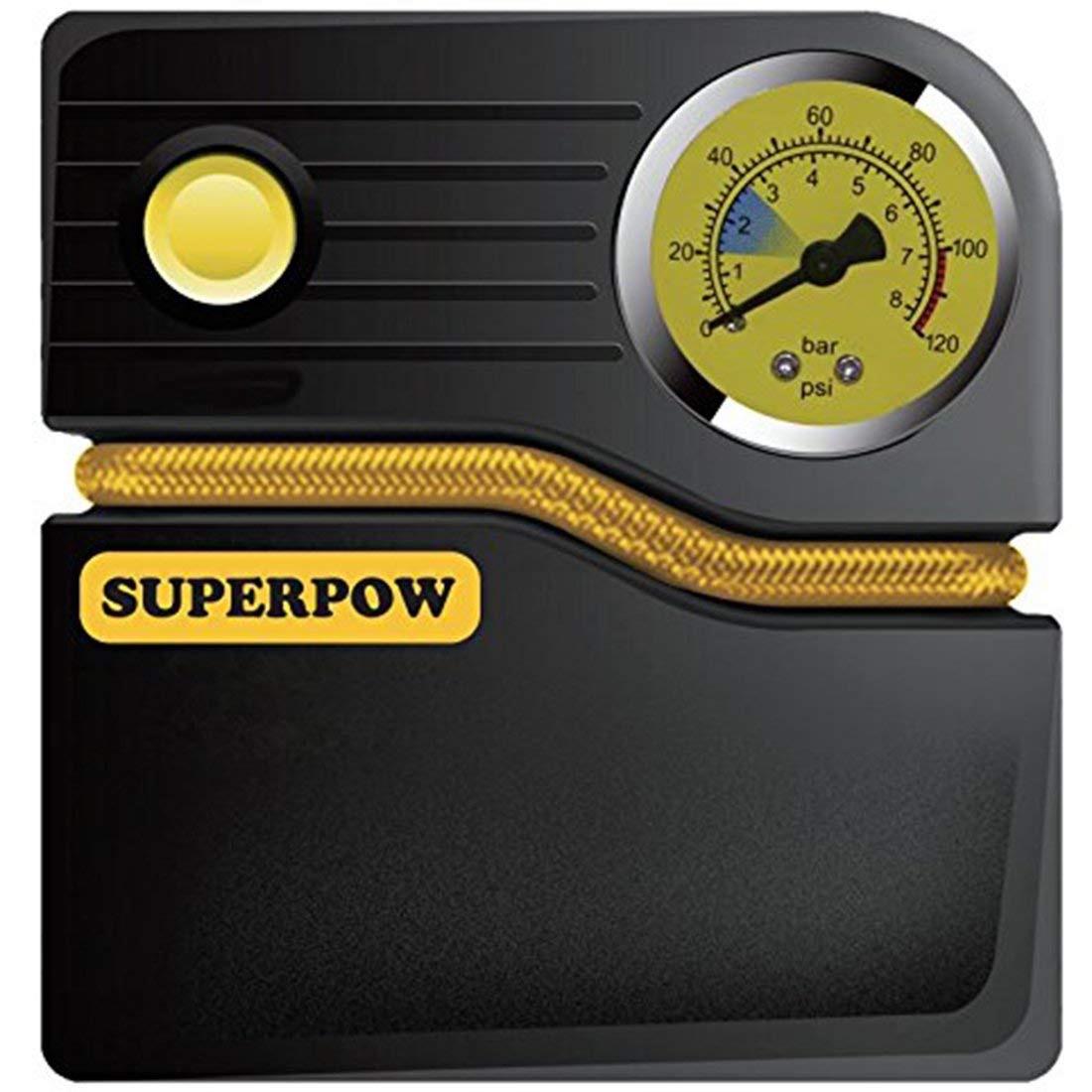 Compresseur d'Air Portable SuperPow 120PSI - 12V (vendeur tiers)