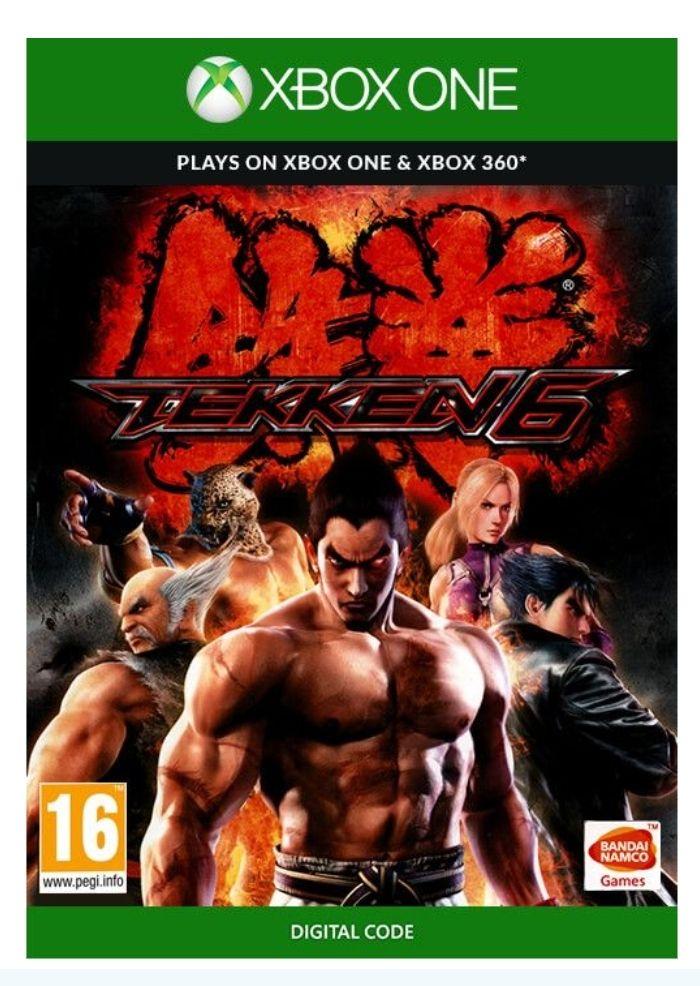 Jeu tekken 6 sur Xbox One et Xbox 360 (Dématérialisé)