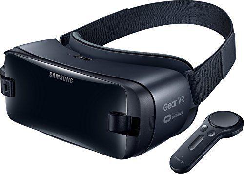 Casque de réalité virtuelle Samsung Gear VR avec Contrôleur pour Galaxy S6, S7, S8, S9, S9+, A8 et Note 8