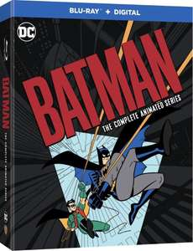 [Précommande] Blu-Ray Batman, l'intégrale de la série animée (Frais de douanes et livraison incluse)