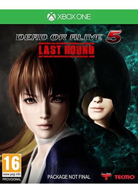 Jeu Dead or Alive 5 Last Round sur Xbox One