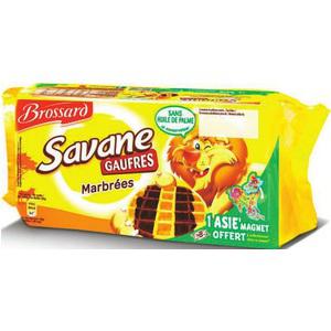 4 paquets de Savane Gaufres marbrées (2€ de réduction)