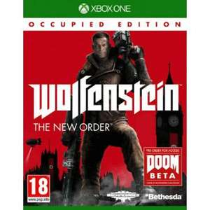Jeu Wolfenstein : The new order edition occupied collector sur XBOX ONE