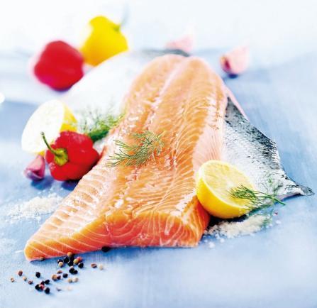 1 Kg de Filet de saumon avec peau - Sans antibiotiques. Sans OGM, Norvège